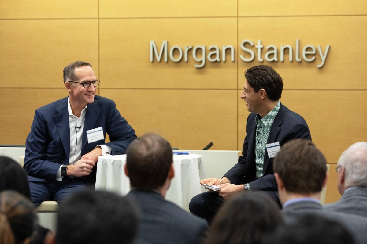 Jason Pizzorusso - CFO, Morgan Stanley Wealth Management
