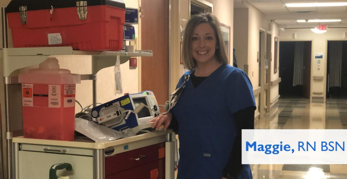 Maggie Wolfred - Director of Nursing Operations - St Vincent
