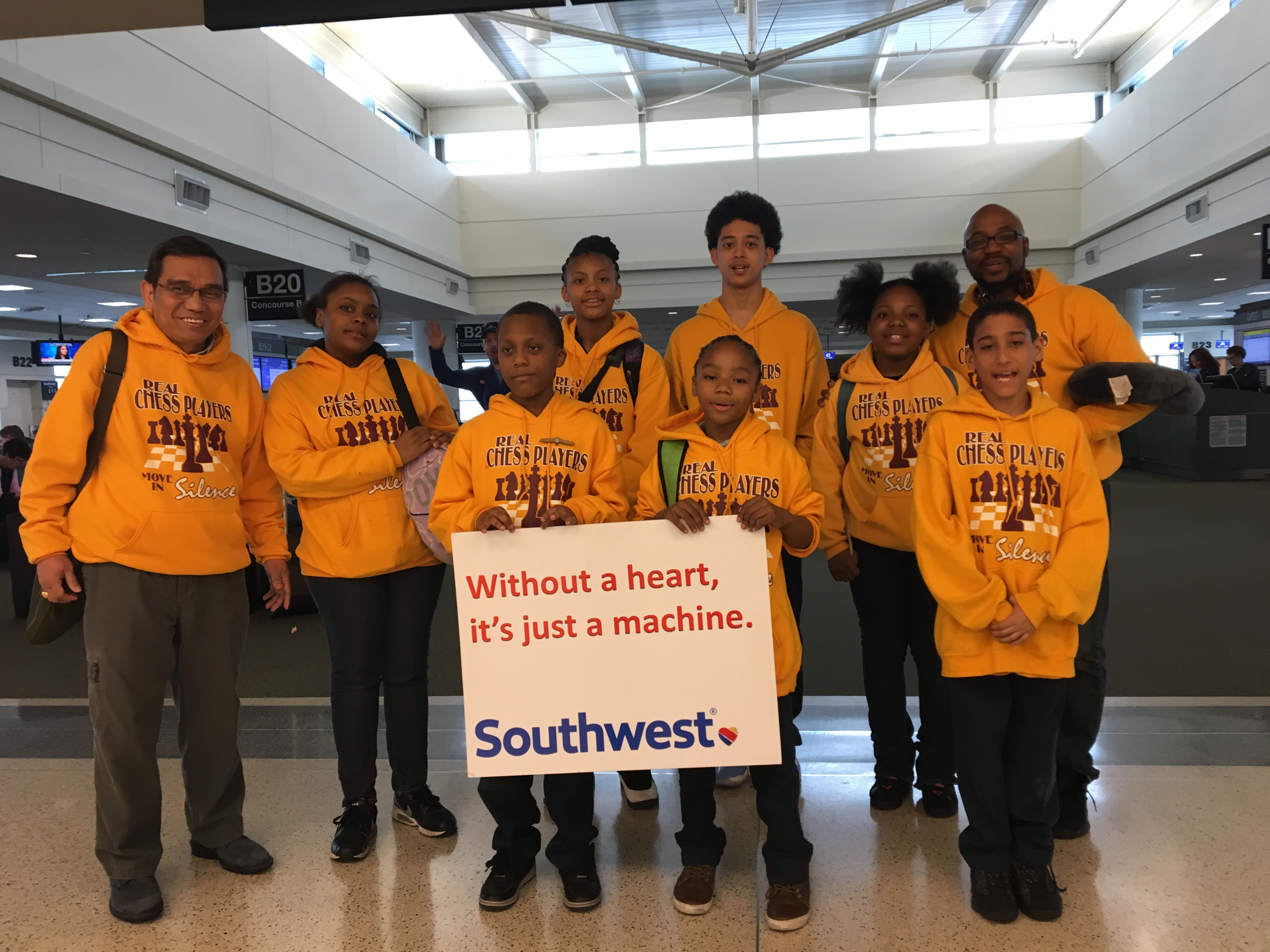 WEST ENGLEWOOD - Members of Earle STEM Academy's chess team took home three trophies from the school's first-ever appearance in the largest chess competition in the world. The elementary students, including some as young as third grade, competed in Nashville this weekend for the U.S. Chess Federatio...