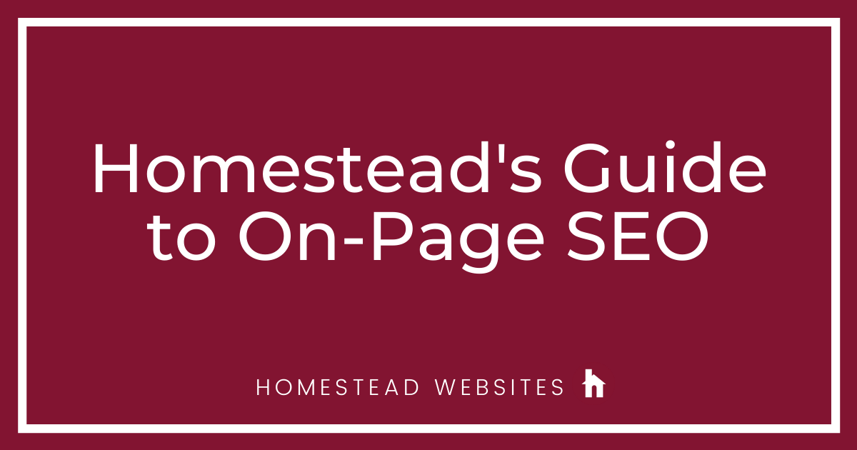 Guide to On-Page SEO