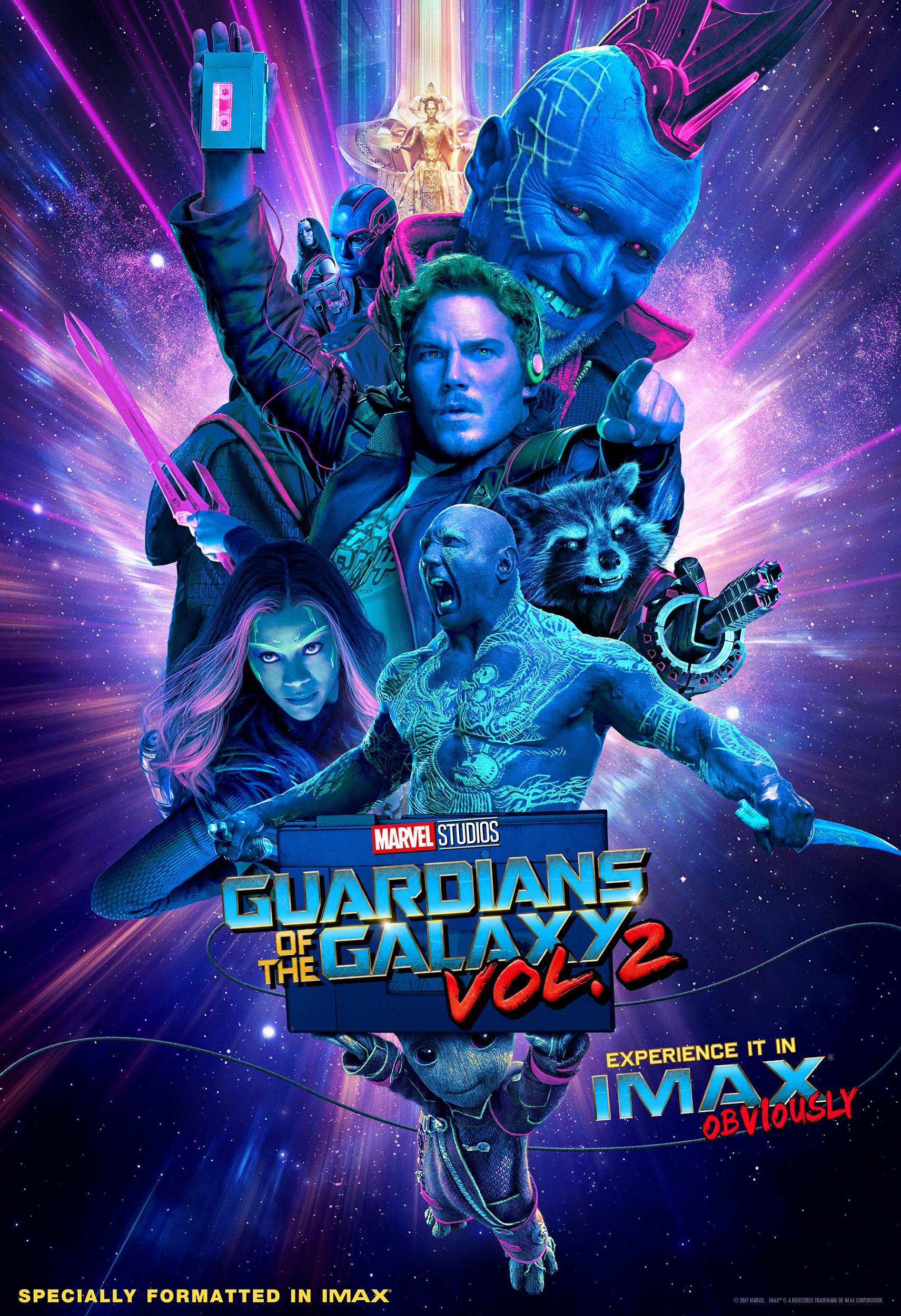 Guardians of the Galaxy Vol. 2 IMAX® Giveaways