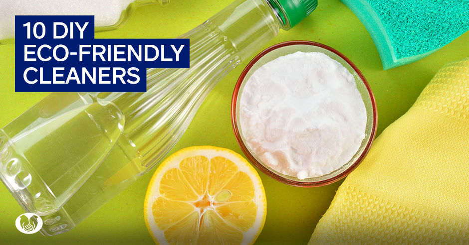 10 DIY Cleaners That Will Turn You Into a Green Machine