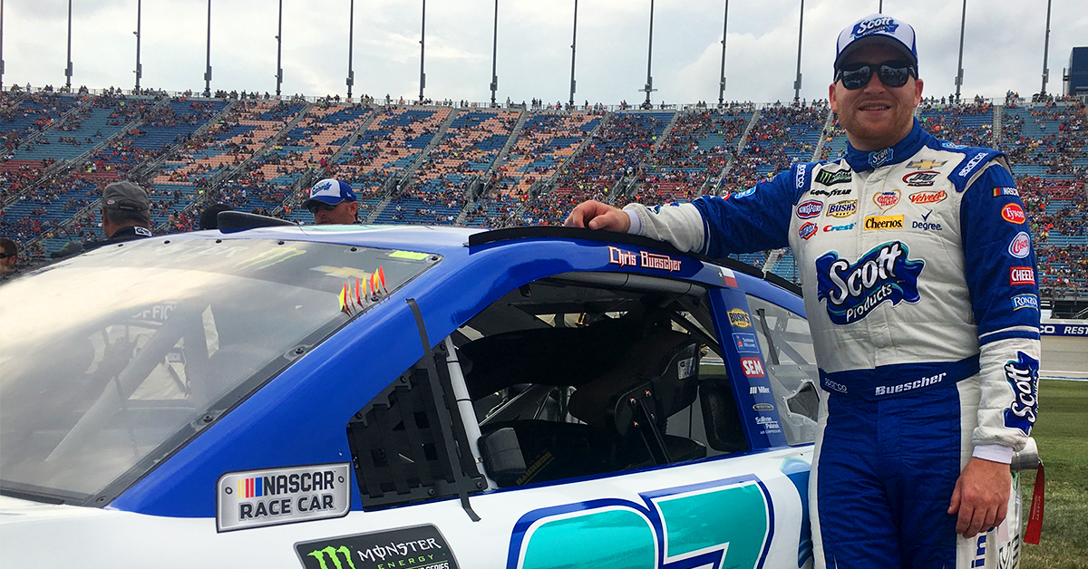 Win a Free Trip to a 2018 NASCAR Race - Scott Products 2017-10-18 17:00