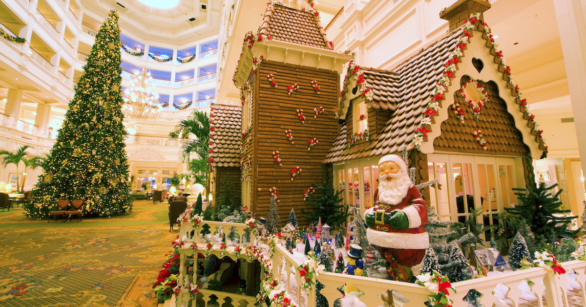 Feast Your Eyes On These Fantastical Gingerbread Displays at Walt Disney World Resort