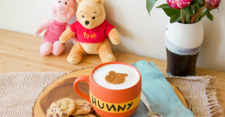 A Blustery Day Calls for Winnie the Pooh Hot Cocoa