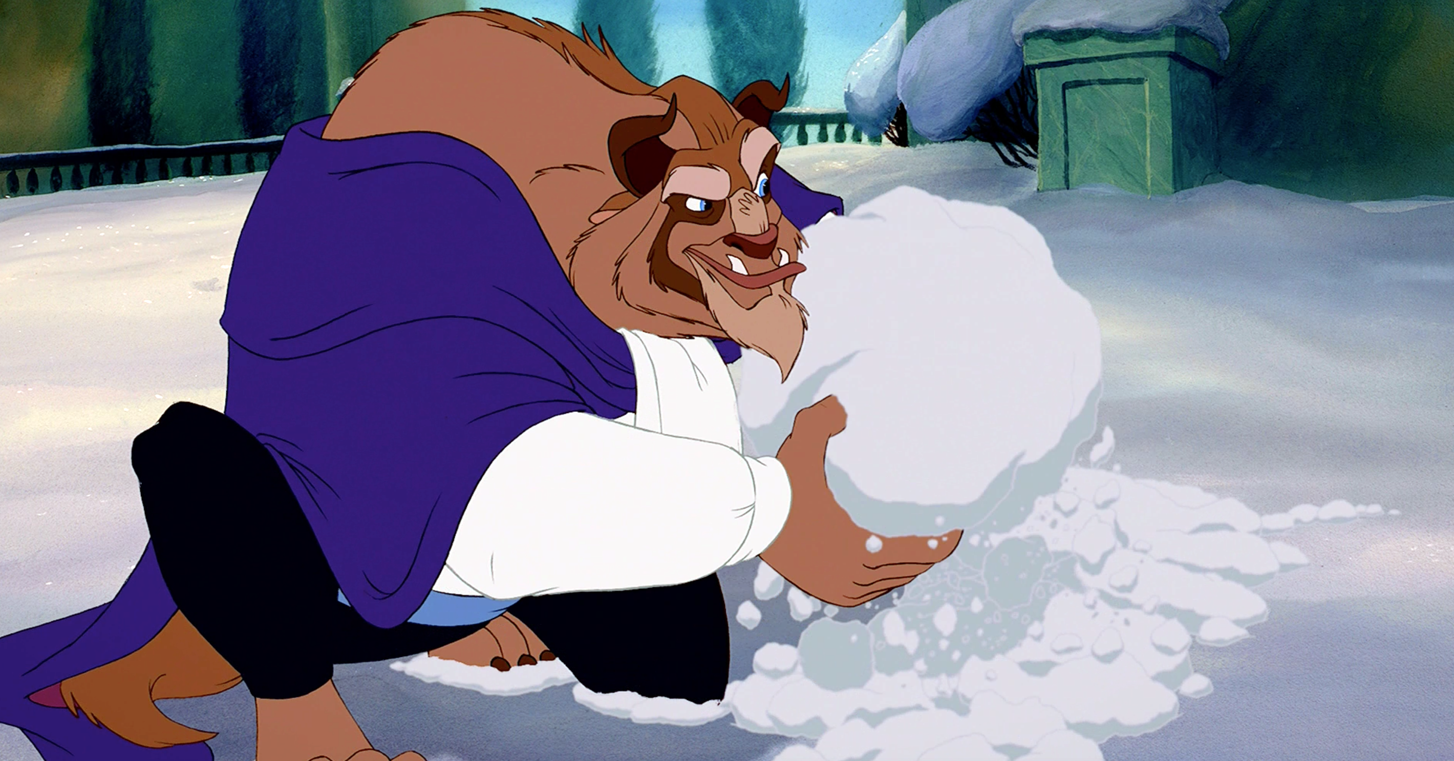 The Stages of Winter, As Told by Disney Characters