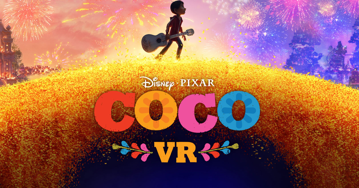 This Coco Virtual Reality Experience Trailer is Today's Coolest Thing