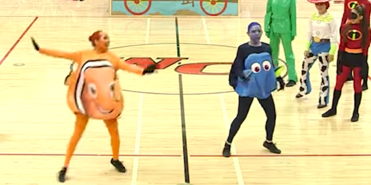 Be Totally Impressed by This High School's Pixar-Themed Performance