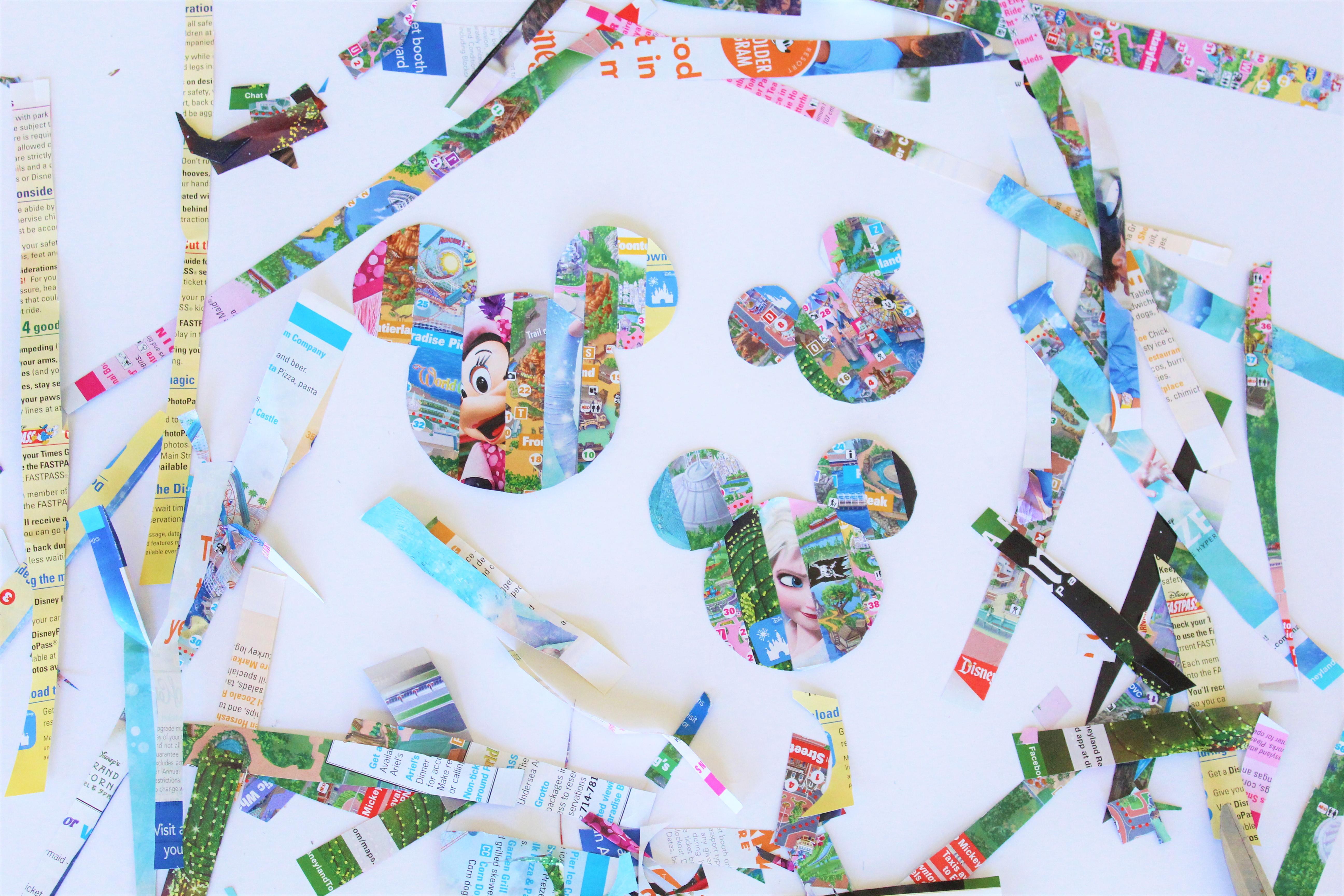 Turn Your Disney Parks Map Into Art | Disney Family
