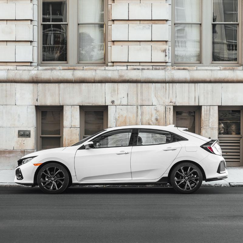 The 2019 Honda Civichatchback Is Available Now And It S
