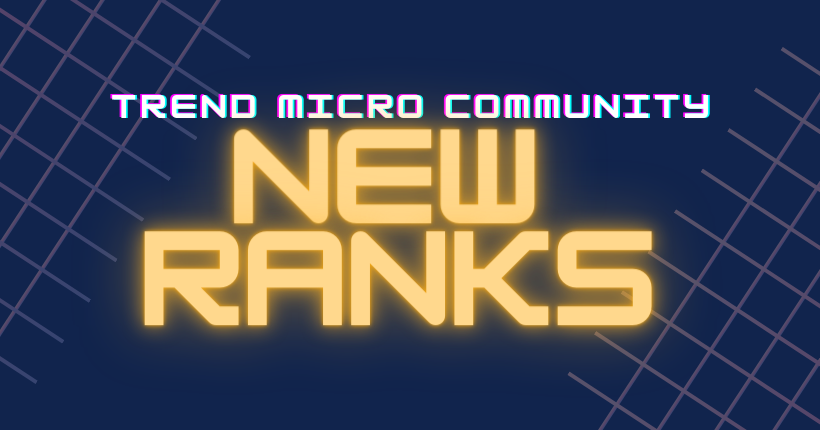 Game ON! New Trend Micro Community Ranks
