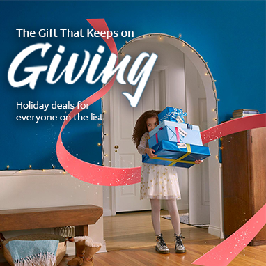 The Gift That Keeps on GIVING. Holiday deals for everyone on the list. Learn more