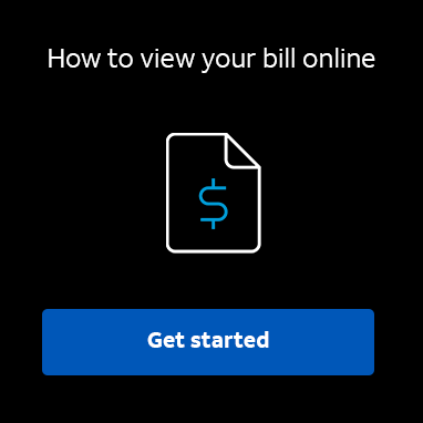 How to view your bill online.  Learn more