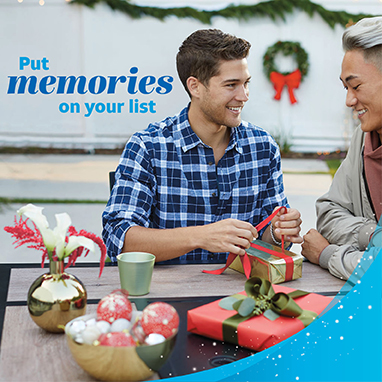 Put memories on your list.  Learn more