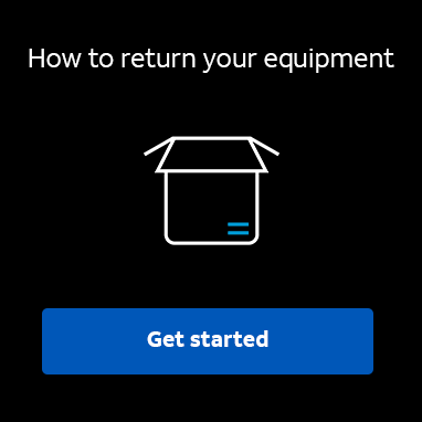 Find out how to return your equipment.  Get started!