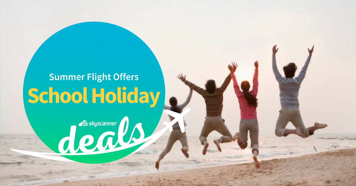 Summer Flight Offers: School Holidays Edition