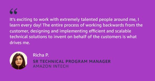 Vishnupriya Janardhanan - Sr Technical Program Manager