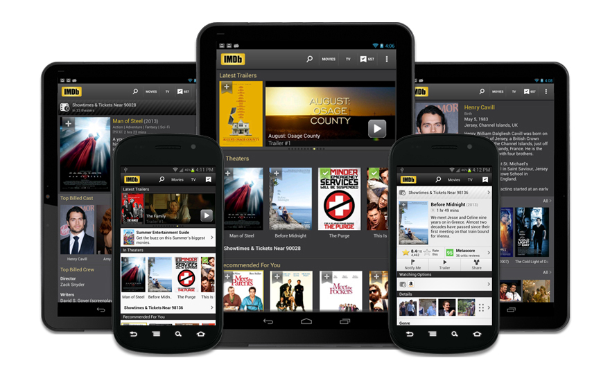 IMDb App: Android & Kindle Fire